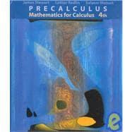 Precalculus Mathematics for Calculus (Non-InfoTrac Version with CD-ROM)