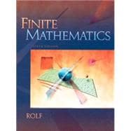 Finite Mathematics (with Digital Video Campanion)