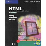 HTML: Introductory Concepts And Techniques, 2nd Edition