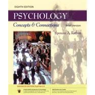Psychology: Concepts & Connections, Brief Edition (with Student User Guide and PsykTrek 3.0 Enhanced Edition Printed Access Card), 8th Edition
