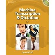 Machine Transcription and Dictation (with CD-ROM)