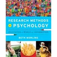 RESEARCH METH PSYCH 1E  PA