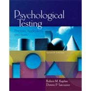 Psychological Testing: Principles, Applications, and Issues, 7th Edition