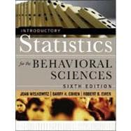 Introductory Statistics for the Behavioral Sciences, 6th Edition