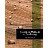 Statistical Methods for Psychology