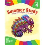 Summer Study: Grade 4 (Flash Kids Summer Study)