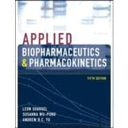 Applied Biopharmaceutics &amp; Pharmacokinetics, Fifth Edition