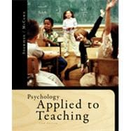Psychology Applied to Teaching, 13th Edition