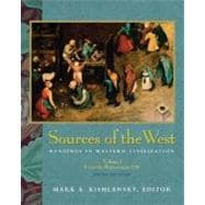 Sources of the West: Readings in Western Civilization, Volume I