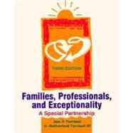Families, Professionals, and Exceptionality: A Special Partnership