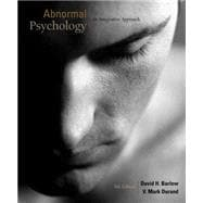 Cengage Advantage Books: Abnormal Psychology An Integrative Approach (with CourseMate Printed Access Card)