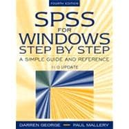 SPSS for Windows Step by Step : A Simple Guide and Reference, 11.0 Update