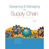 Designing and Managing the Supply Chain w/ Student CD-Rom