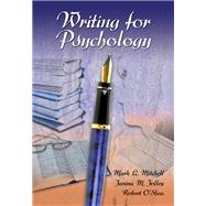 Writing for Psychology (with InfoTrac)