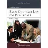 Basic Contract Law for Paralegals, Eighth Edition