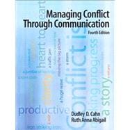 Managing Conflict Through Communication