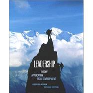 Leadership Theory, Application, Skill Development