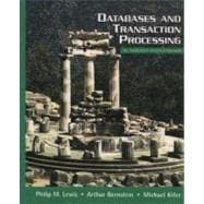 Databases and Transaction Processing : An Application-Oriented Approach