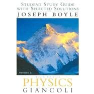 Student Study Guide with Selected Solutions, Volume 2