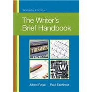 Writer's Brief Handbook, The Plus NEW MyCompLab with eText -- Access Card Package