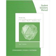 Student Solutions Manual for Waner/Costenoble�s Finite Math