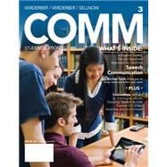 COMM 3 (with CourseMate with Interactive Video Activities, SpeechBuilder� Express, 1 term (6 months) Printed Access Card)