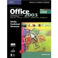 Microsoft Office 2003 Introductory Concepts and Techniques (Book Only)