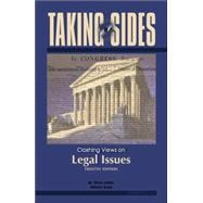 Taking Sides : Clashing Views on Legal Issues