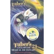 Taber's Cyclopedic Medical Dictionary (Thumb  Index) w/Taber'sPlus DVD