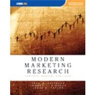 Modern Marketing Research : Concepts, Methods, and Cases