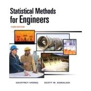 Statistical Methods for Engineers, 3rd Edition
