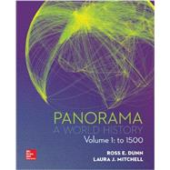 Panorama  A World History Volume 1 with Connect 1-Term Access Card