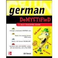 German Demystified : A Self Teaching Guide