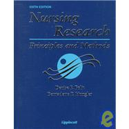 Nursing Research : Principles and Methods