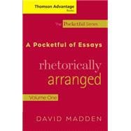 Cengage Advantage Books: A Pocketful of Essays Volume I, Rhetorically Arranged, Revised Edition