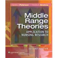 Middle-Range Theories Application to Nursing Research