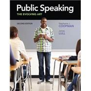 Public Speaking The Evolving Art (with CourseMate with Interactive Video Activities, Speech Studio�, Audio Study Tool, SpeechBuilder Express, InfoTrac 1-Semester Printed Access Card)