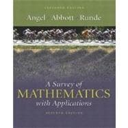 Survey of Mathematics with Applications, A: Expanded Edition