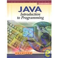 JAVA : Introduction to Programming