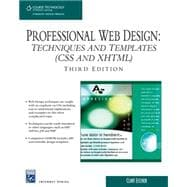 Professional Web Design Techniques and Templates (CSS & XHTML)