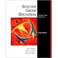 Effective Group Discussion : Theory and Practice