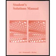 Student Solutions Manual Calculus With Applications