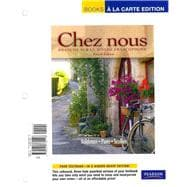 Chez nous Branch sur le monde francophone, Books a la Carte Plus MyFrenchLab (multi semester access)