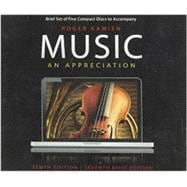 Music, an Appreciation [Audio CD]