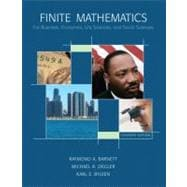 Finite Mathematics : For Business, Economics, Life Sciences, and Social Sciences