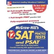 McGraw-Hill's 12 Practice SATs and PSAT