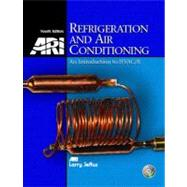 Refrigeration and Air Conditioning An Introduction to HVAC