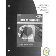 Activities & Projects CH 1-20 for Dlabay/Burrow/Kleindl's Introduction to Business, 7th