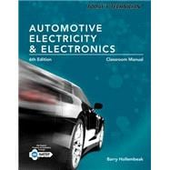 Today's Technician Automotive Electricity and Electronics, Classroom and Shop Manual Pack