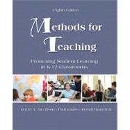 Methods for Teaching Promoting Student Learning in K-12 Classrooms